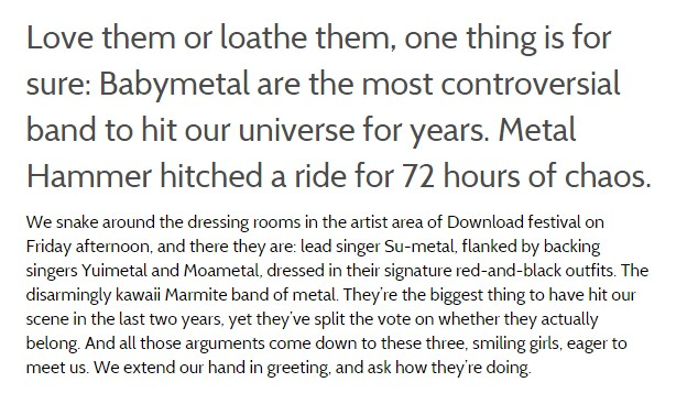 babymetal Metal Hammer hitched a ride for 72 hours of chaos2
