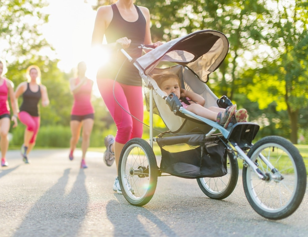 Jogging Stroller Safety Tips