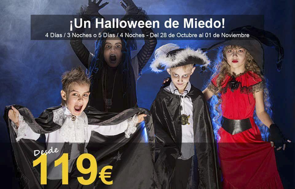 Escapada de Halloween con niños
