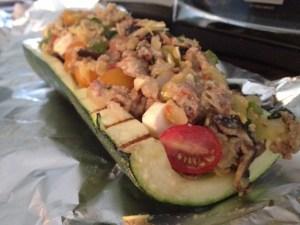 zucchini, boat