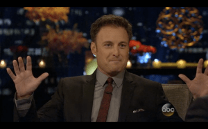 Whoa, whoa, whoa -- Chris Harrison