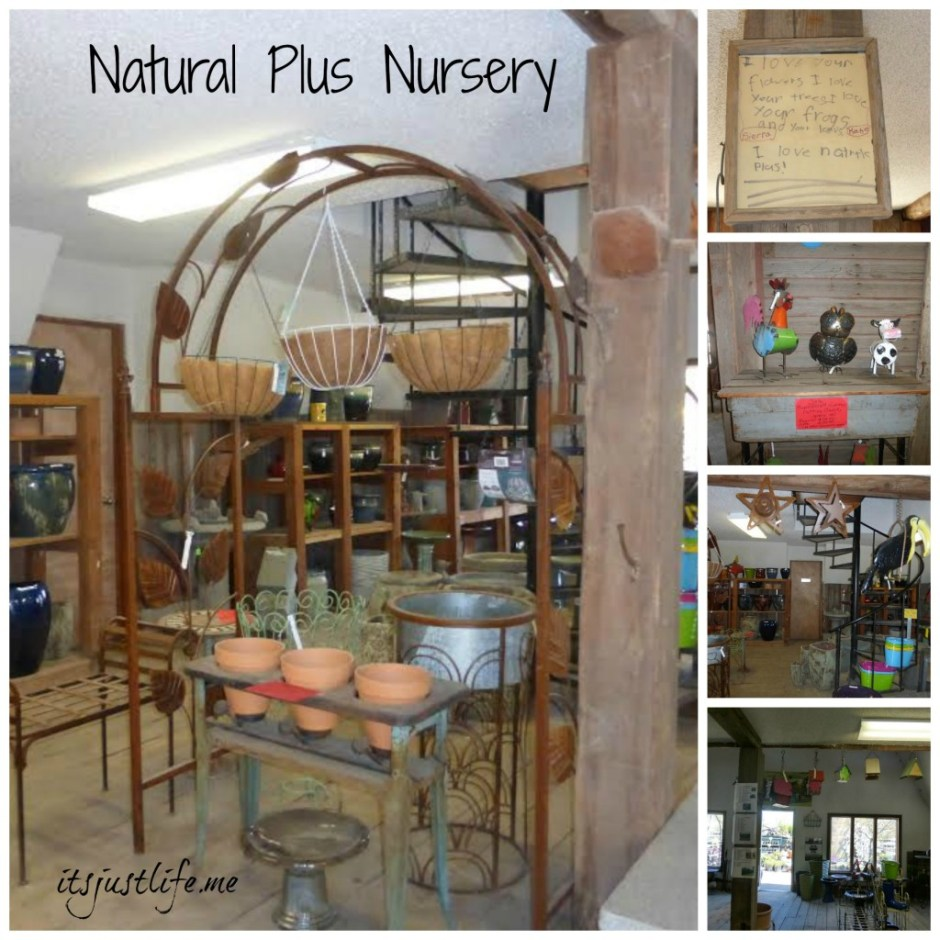 Natural Plus Nursery Collage