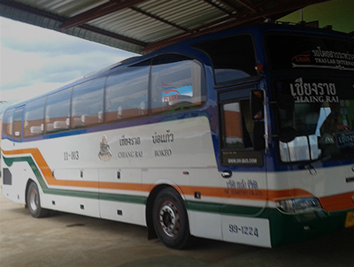 How to get from Huay Xai to Chiang Rai
