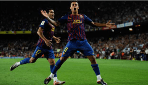 Ruthless Barcelona hit Villarreal for five