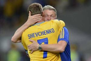 Euro 2012: The fitting farewell for Andriy Shevchenko