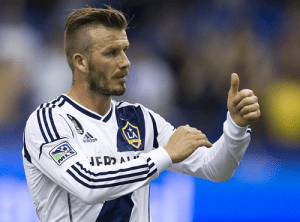 A look back at David Beckham's LA Galaxy career