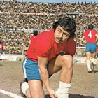 Carlos Caszely of Chile.