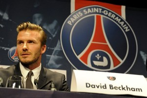 The final chapter: Beckham's move to PSG