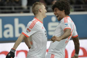 'And the Oscar goes to...': Bayern Munich win Bundesliga title