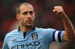 Pablo Zabaleta Stoke City v Manchester City - FA Cup Fourth Round