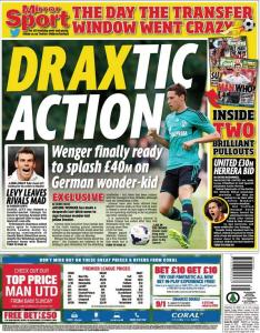 Arsenal to bid for Schalke wonderkid Julian Draxler?