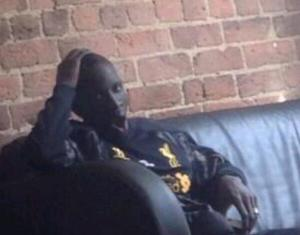 Is this Mamadou Sakho in Liverpool training gear?
