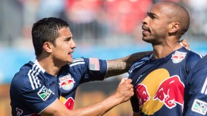 Will Thierry Henry go out on a high with the New York Red Bulls?