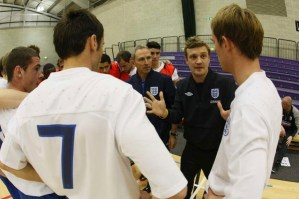 England coach improves futsal understanding in commentary role