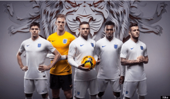 England home shirt