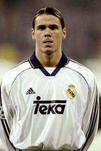Fernando Redondo, seen here with Real Madrid, was, arguably, the finest Argentine midfielder of his generation.