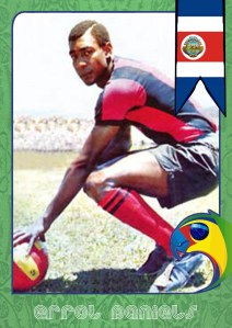 World Cup Legends: Costa Rica and Errol Daniels