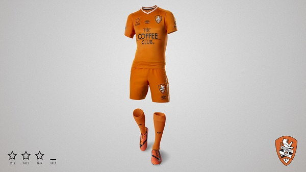 Brisbane Roar home kit