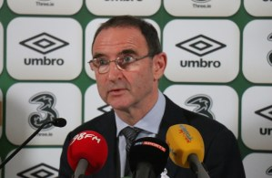 Martin O'Neill popped up on BBC's Super Bowl coverage and it was surreal