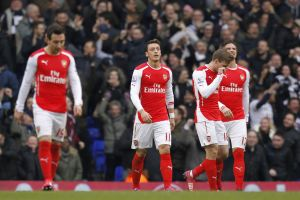 One step forward, two steps back for Arsenal