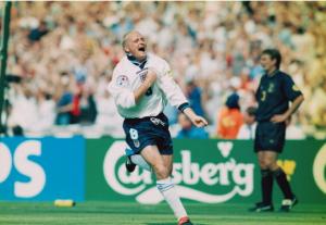 My first footballing memory - Paul Gascoigne and Scotland