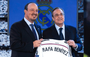 Rafa Benitez - fallaciously hired and prematurely sacked
