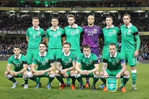 Infographic: Republic of Ireland shirts at major international tournaments