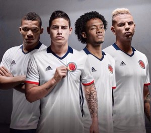 Pics: Colombia shirt goes white for Copa America Centenario