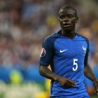 Amateur N'Golo Kante watched EURO 2012 on TV
