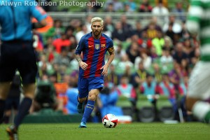 Gallery: Barcelona and Celtic entertain at the Aviva Stadium