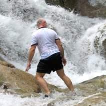 Retro Roadtrip: Jamaica's Dunn's River Falls