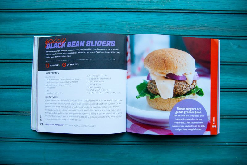 sliders spread cookbook