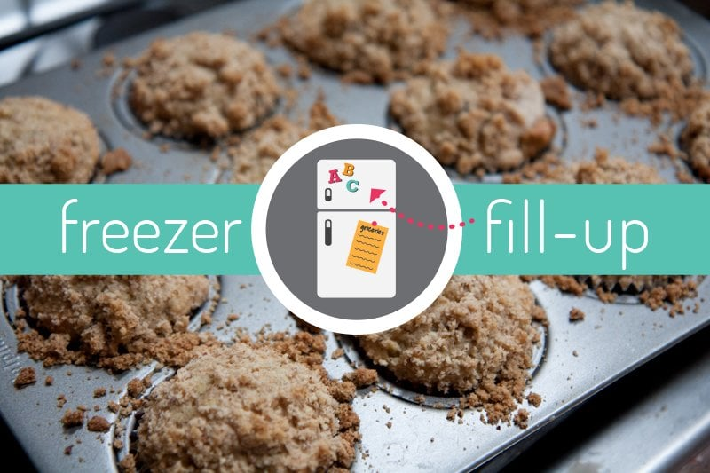 freezer fill-up muffin