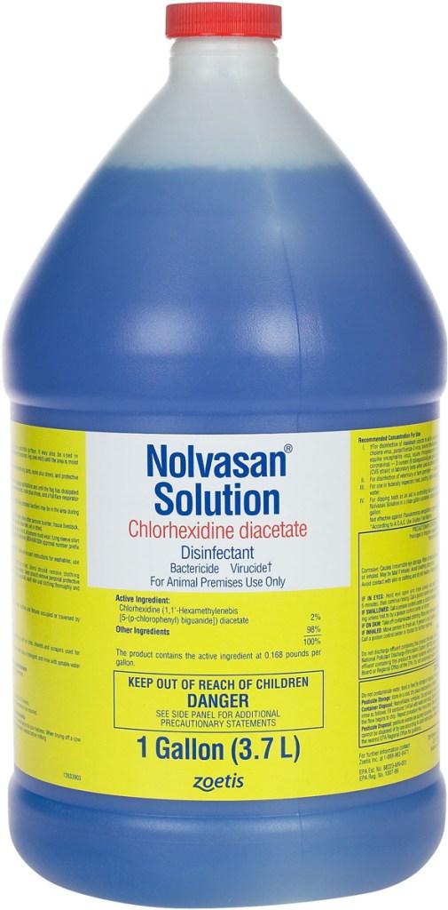 nolvasan solution