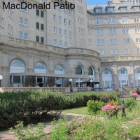 Edmonton Patio Hop- The Hotel MacDonald