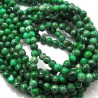 Sunday Reflection - Green Beads