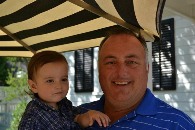 Baby Carlos and Unca Joe