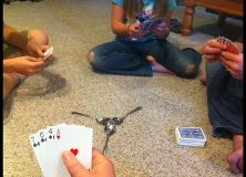 Spoons Card Game