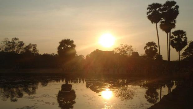Sunset at Angkor
