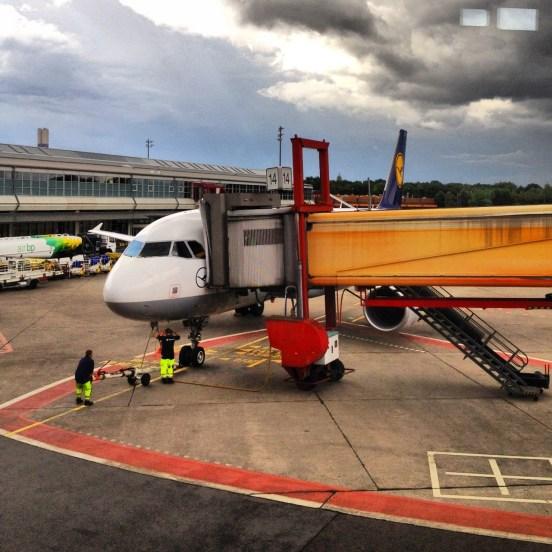 Our aircraft from Berlin to Stuttgart