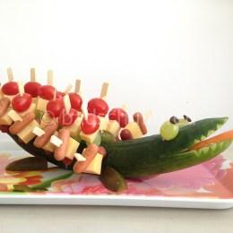 traktatie krokodil I DIY I door het Creatief lifestyleblog Badschuim
