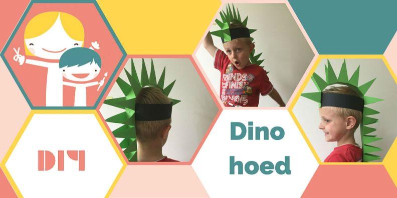Maak je eigen dino hoed