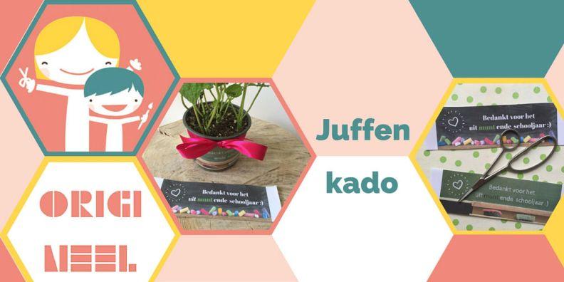 Juffenkado - bedankt voor het uit-MUNT-ende schooljaar