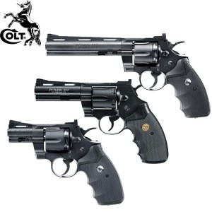 Colt Python Black Collection