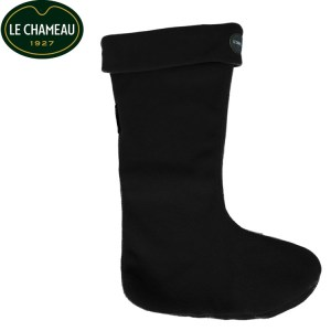 Le Chameau Welly Sock Black