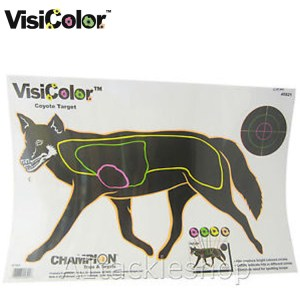 Visi Colour Fox targets