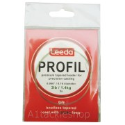 Leeda Profil Knottless Tapered Leader 3lb