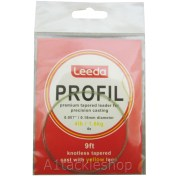 Leeda Profil Knottless Tapered Leader 4 lb
