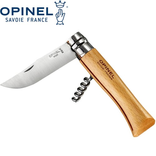 Opinel No10 Corkscrew Knife