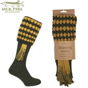 Jack Pike Pebble Shooting Socks Green